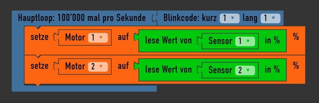 Arduino Roboter mit LDR steuern