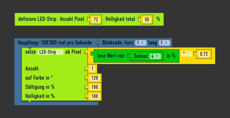 Arduino Sensor Potentiometer programmieren und skalieren