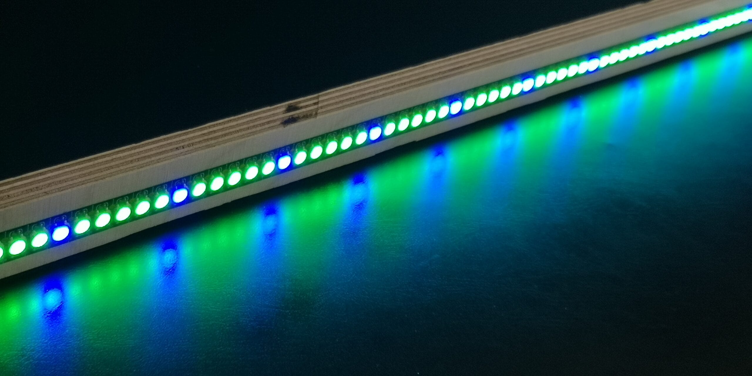 Neopixel Farbmuster mit for-schleife